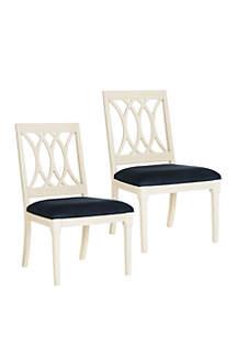 Safavieh Set of 2 Selena Side Chairs