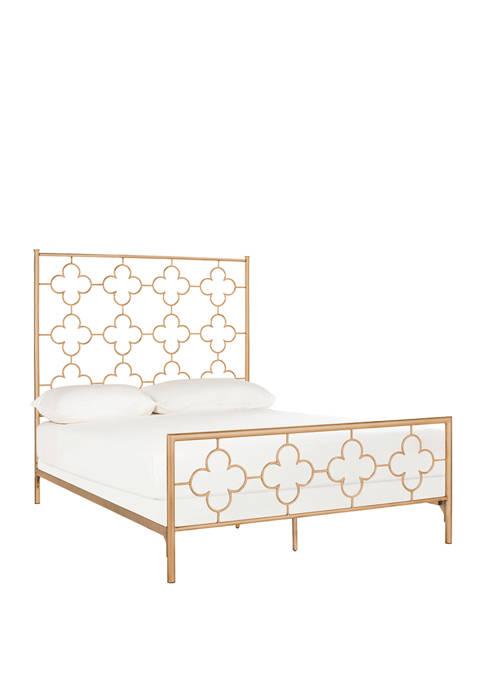Morris Lattice Metal Bed