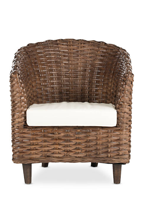 Omni Rattan Barrel Chair