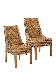 Safavieh Set of 2 Suncoast Arm Chairs