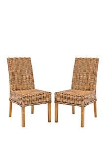 Safavieh Set of 2 Sanibel Side Chairs