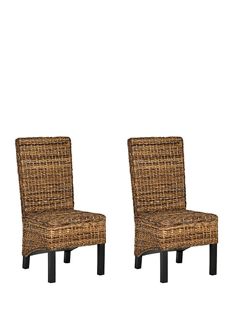 Safavieh Set of 2 Pembrooke Side Chairs