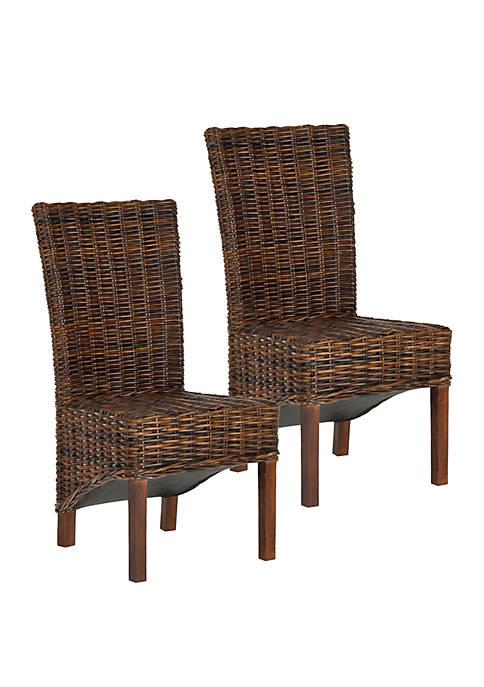Set of 2 Ridge Side Chairs