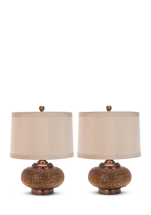 Safavieh Alexis Gold Bead Table Lamp