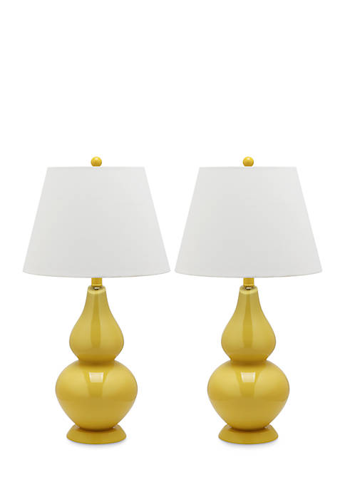 Safavieh Cybil Double Gourd Lamp