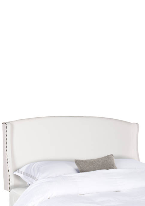 Austin Winged Velvet Headboard