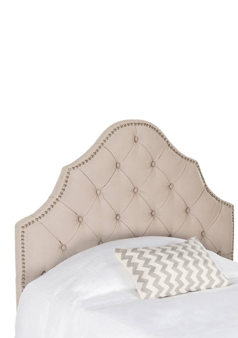 Safavieh Arebelle Linen Tufted Headboard