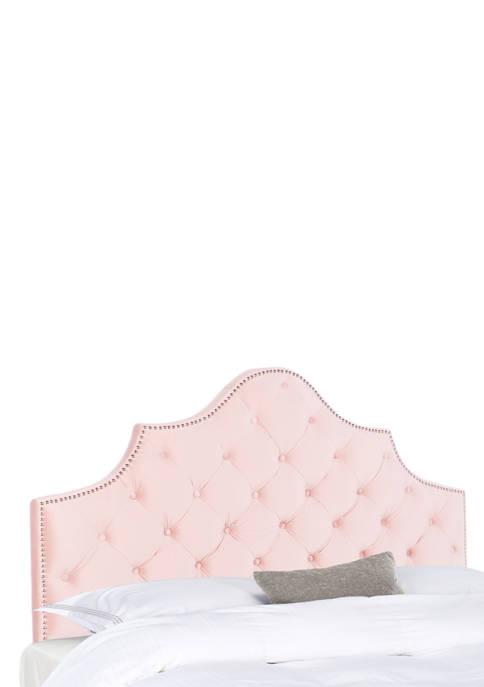 Safavieh Arebelle Velvet Tufted Headboard