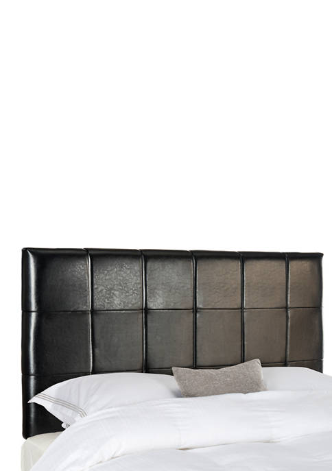 Safavieh Quincy Leather Headboard