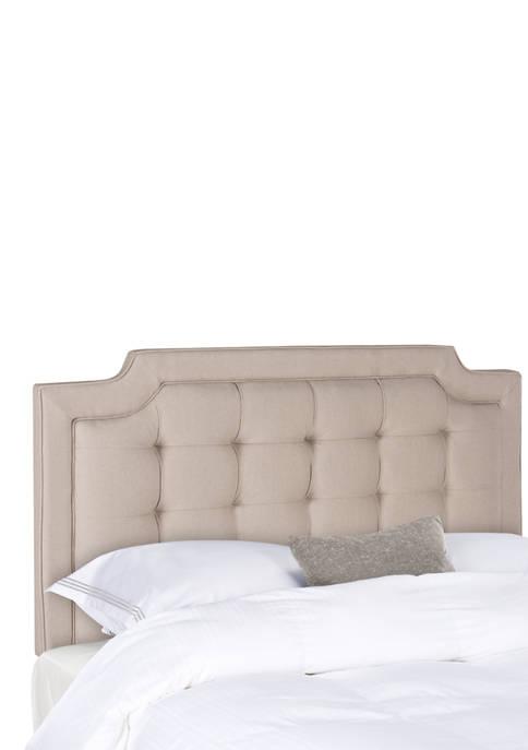Safavieh Sapphire Tufted Linen Headboard