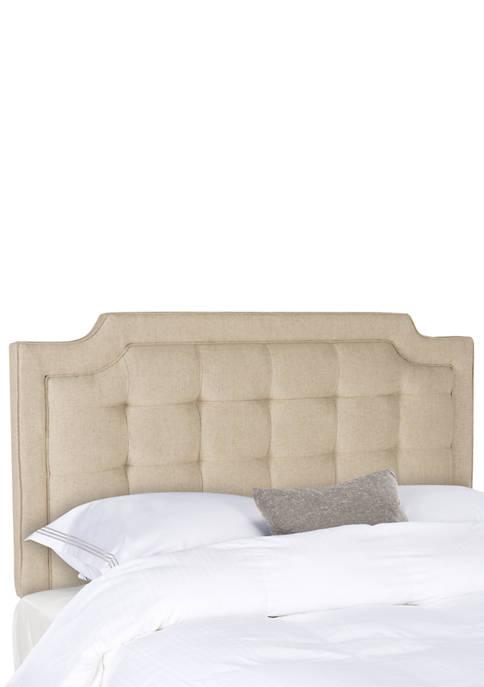 Sapphire Tufted Linen Headboard