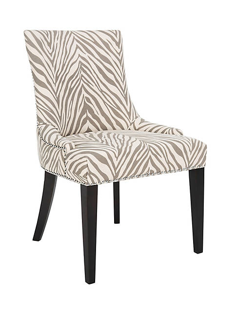 Becca Gray Zebra Chair