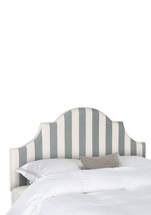 Safavieh Hallmar Striped Arched Headboard