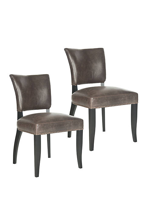 Safavieh Set of 2 Desa Side Chairs