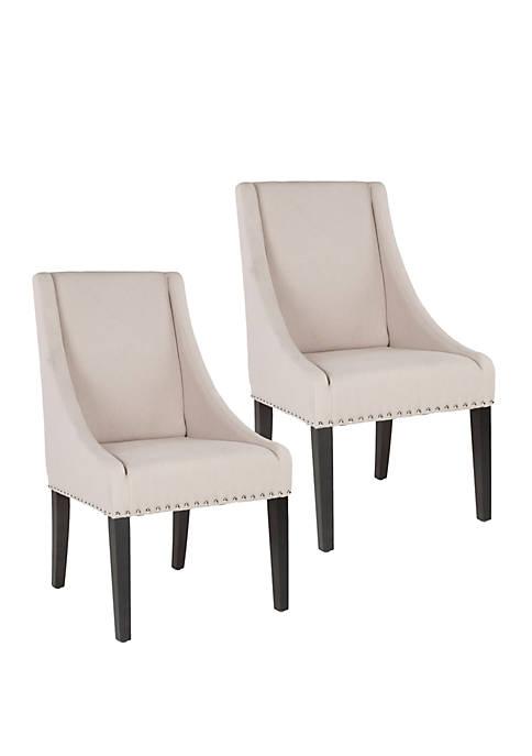 Safavieh Set of 2 Britannia Side Chairs