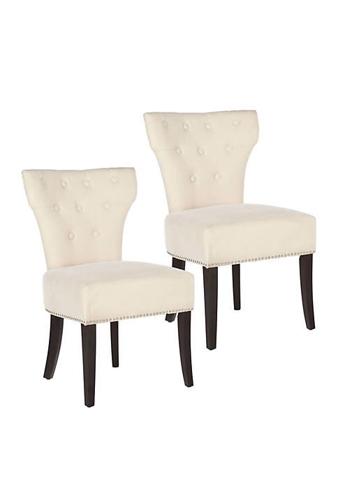 Safavieh Set of 2 Addison Chairs