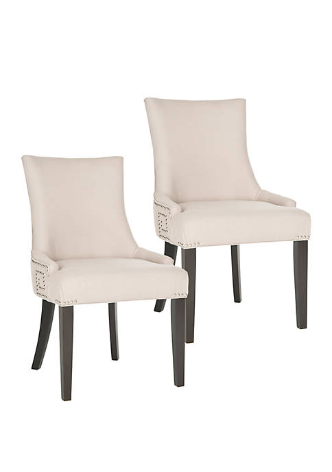 Safavieh Set of 2 Gretchen Side Chair Taupe