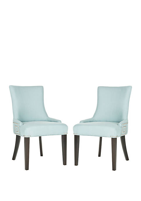 Set of 2 Gretchen Side Chair Light Blue