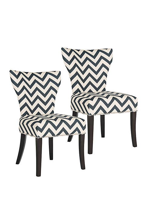 Safavieh Set of 2 Jappic Ring Chairs