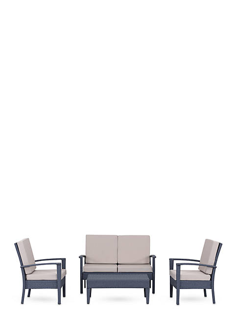 Safavieh Myers 4-Piece Outdoor Set