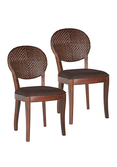 Set of 2 Prisco Side Chairs