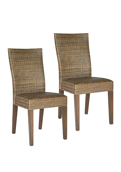 Safavieh Set of 2 Fausta Side Chairs