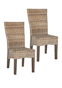 Safavieh Set of 2 Ozias Dining Chairs