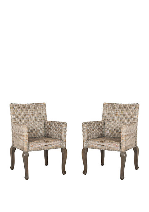Safavieh Set of 2 Armando Dining Chairs