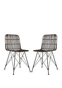 Safavieh Set of 2 Minerva Dining Chairs