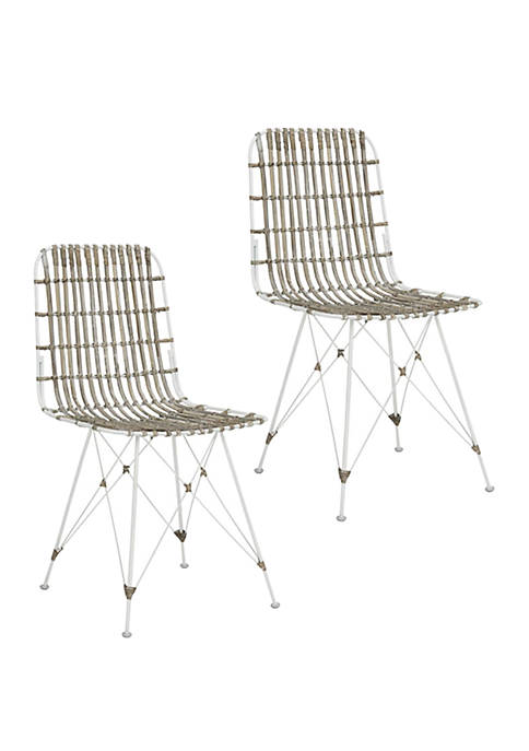 Safavieh Set of 2 Minerva Dining Chairs