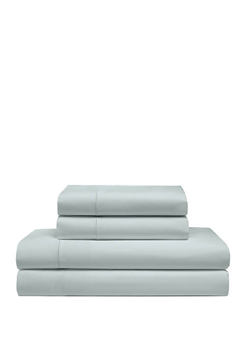 Elite Home Products Cool Comfort Cotton Solid Sheet