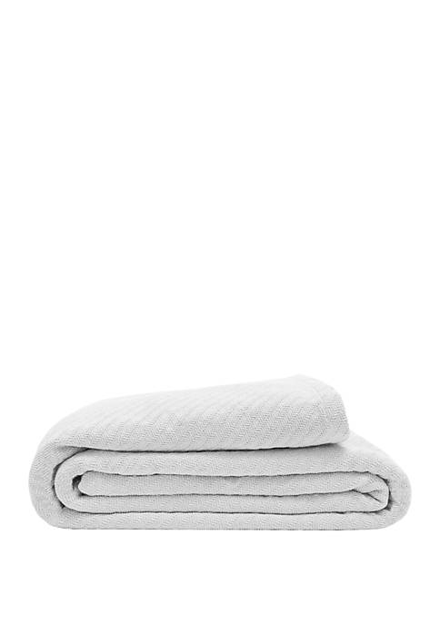 Elite Home Products Organic Cotton Blanket