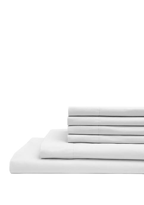 Elite Home Products Microfiber Solid Bonus Sheet Set