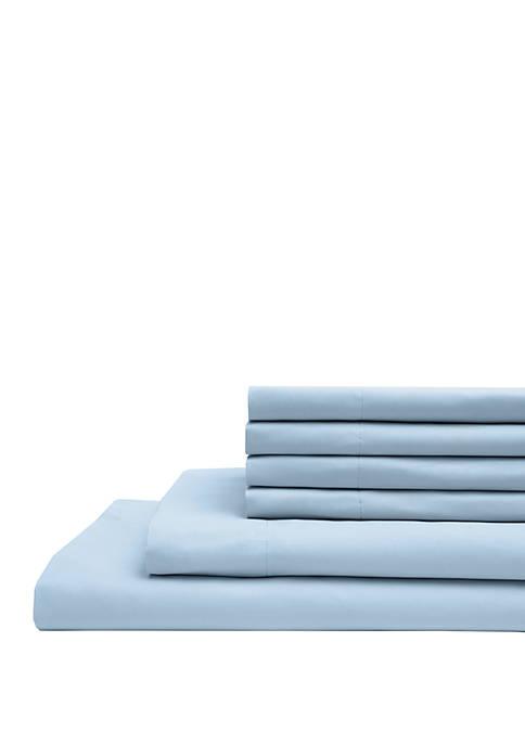 Elite Home Products Microfiber Solid Bonus Sheet Set