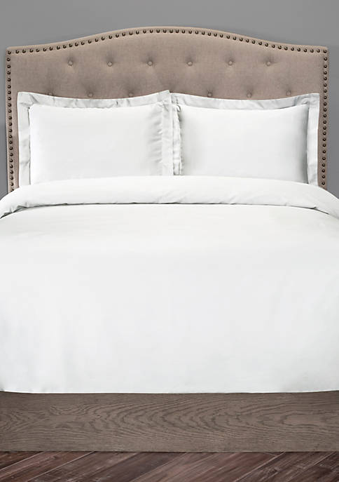 Elite Home Products Organic Cotton Duvet Cover Set