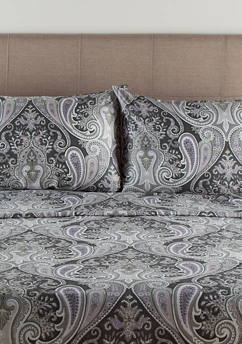 Elite Home Products Crystal Palace Sheet Set
