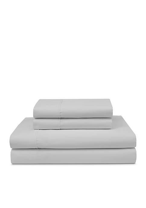 Elite Home Products Cotton Wrinkle Free Sheet Sets