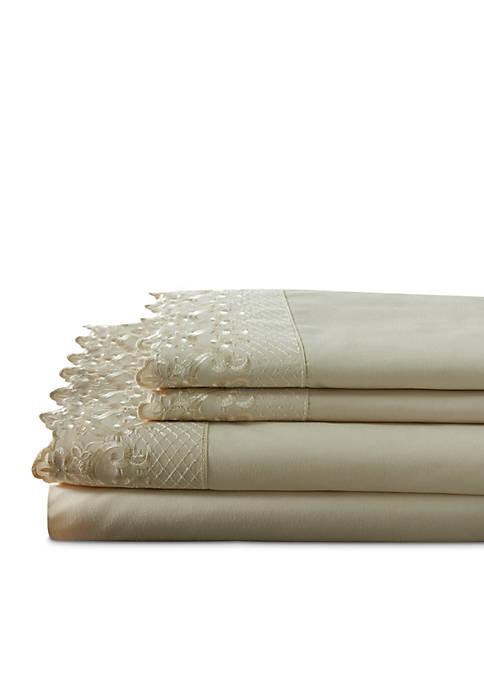 Hotel Lace Sheet Set