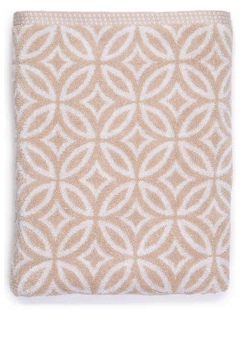 Crown & Ivy™ Jacquard Bath Towel Collection