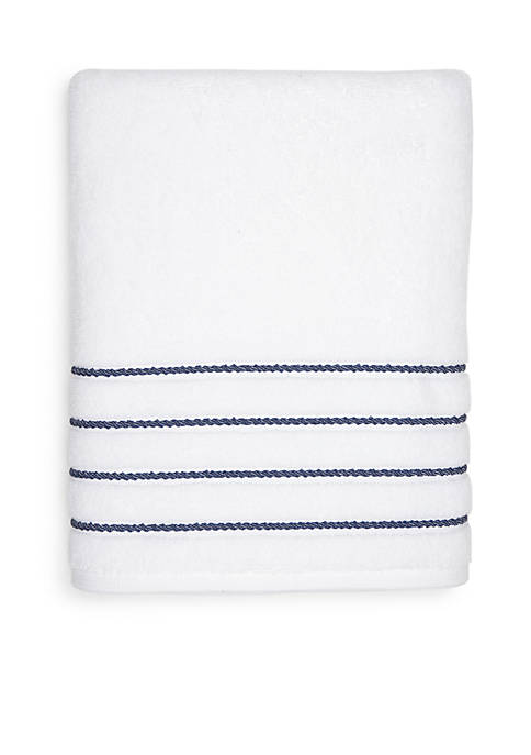 Crown & Ivy™ Hygro Cotton Stripe Bath Towel