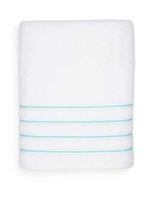 Crown & Ivy™ Hygro Cotton Stripe Bath Towel