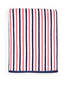 Striped Bath Towel Collection