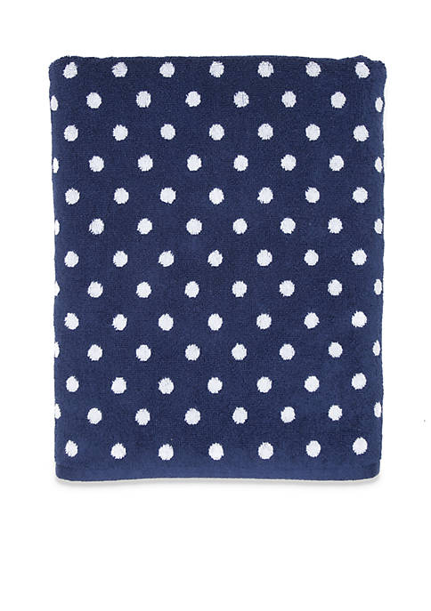 Crown & Ivy™ Polka Dot Bath Towel Collection