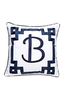 Monogram Throw Pillow