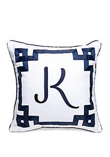 Crown & Ivy™ Monogram Throw Pillow
