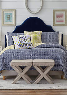 Crown & Ivy™ Willow Reversible Quilt