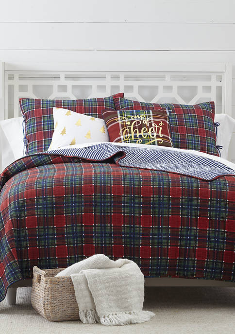 Crown Plaid Quilt