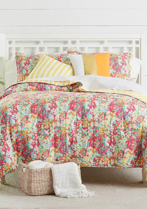 Crown & Ivy™ Petite Floral Quilt