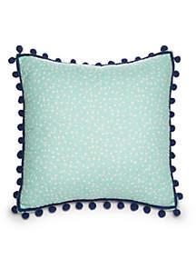 Floral Flamingo Match Back Pillow