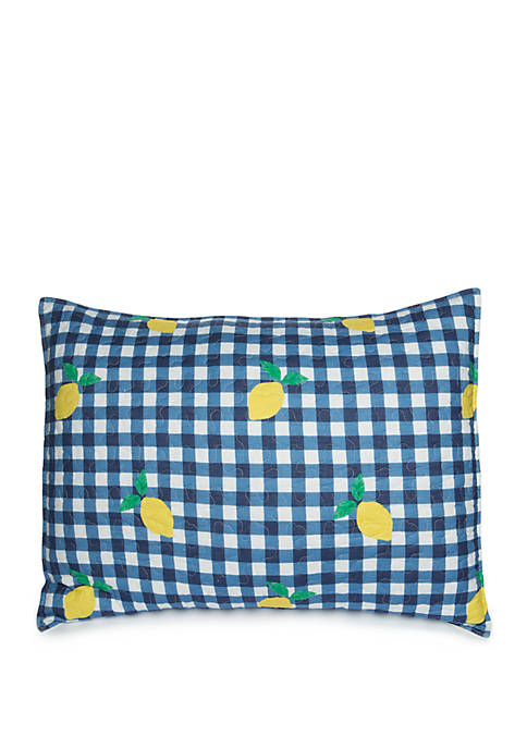 Crown & Ivy™ Karter Lemon Standard Sham